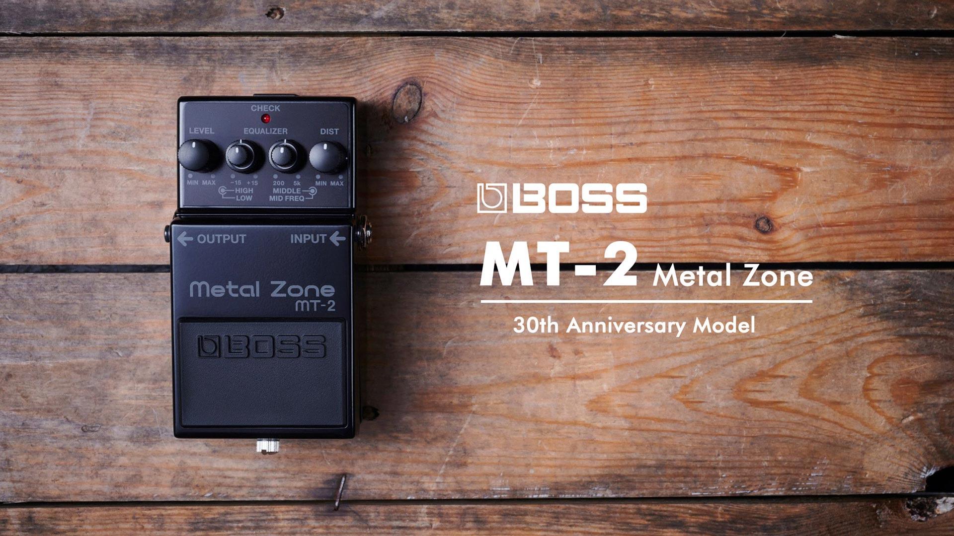 BOSS MT-2-3A [Metal Zone 30th Anniversary] | イケベ楽器店