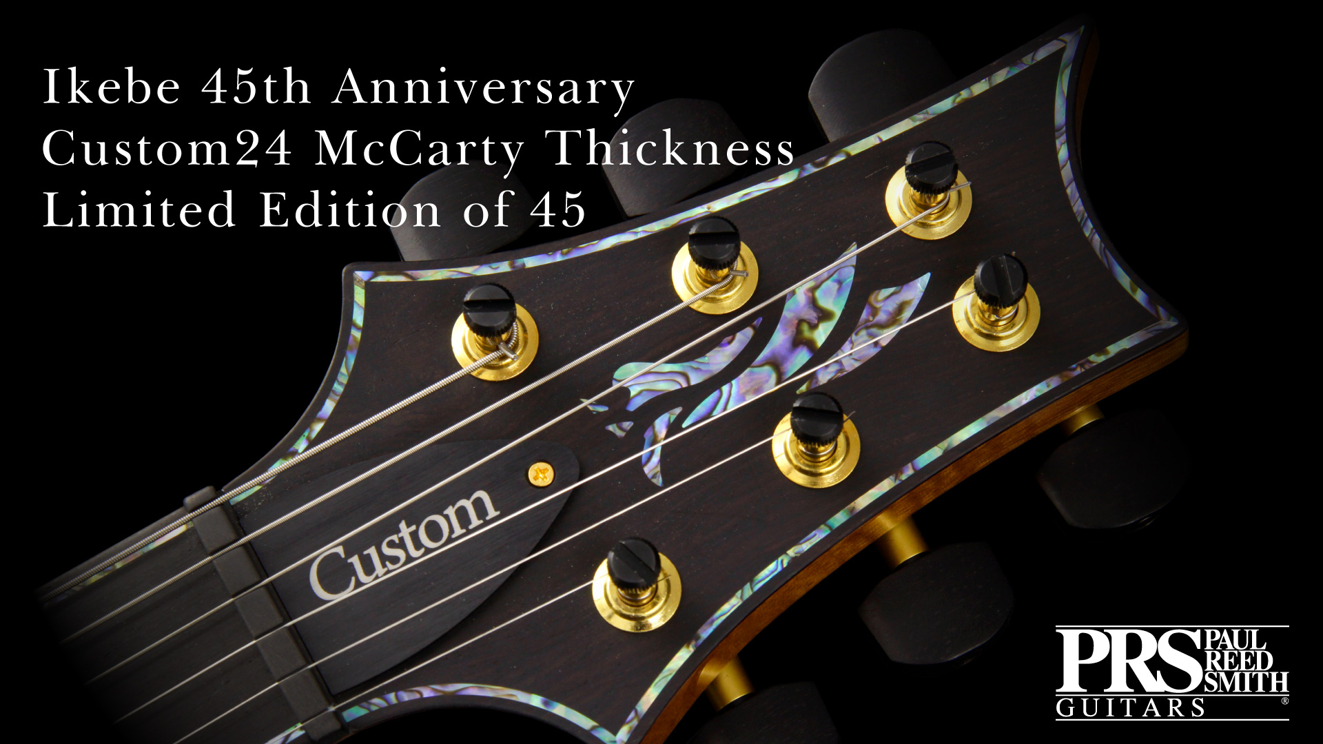 Ikebe 45th Anniversary Custom24 McCarty Thickness Limited Edition of 45