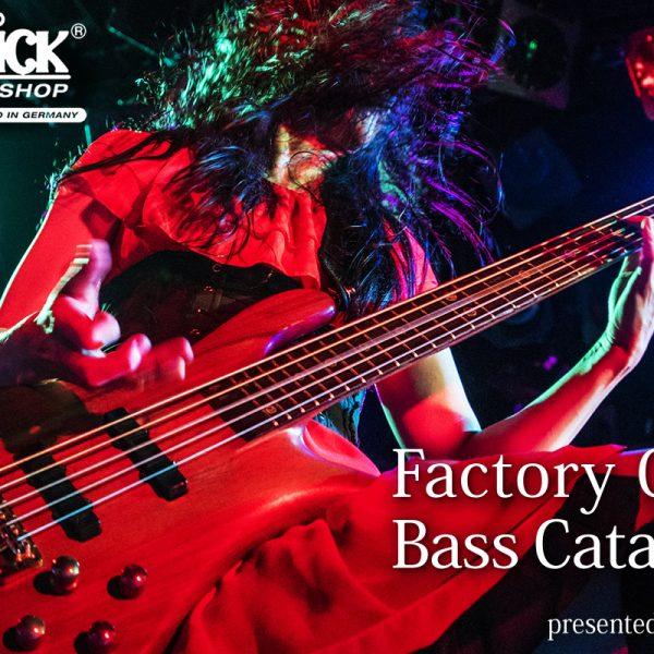 【更新!】Warwick Factory Order Bass Catalogue