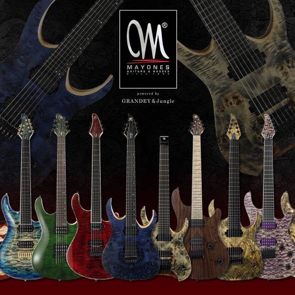 【更新!】Mayones Guitars powered by GRANDEY&Jungle