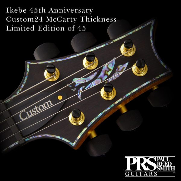 PRS Ikebe 45th Anniversary Custom24 McCarty Thickness Limited Edition of 45