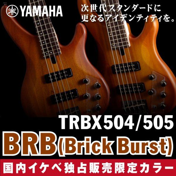 """Yamaha TRBX 国内イケベ独占販売限定カラー""""BRB"""" ブリックバースト"""