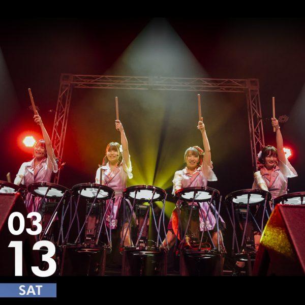 東京おとめ太鼓 × 電子和太鼓 TAIKO-1 スペシャル・パフォーマンス