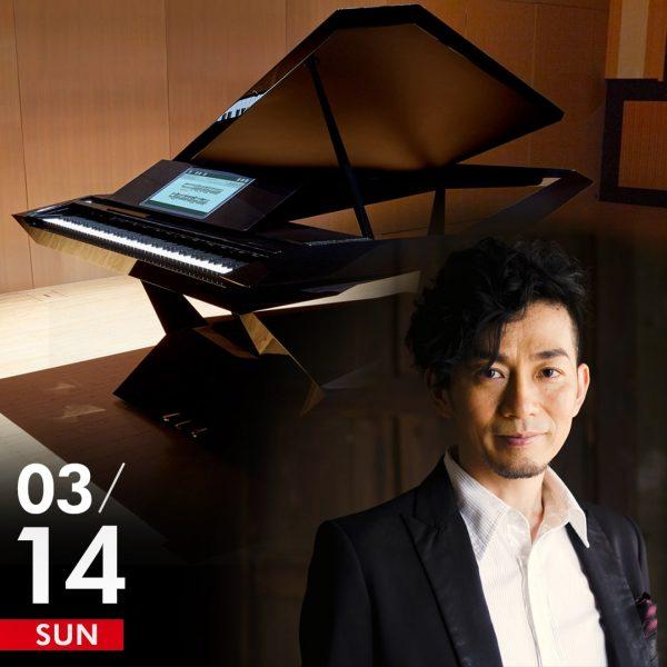 秋田慎治 Facet Grand Piano ジャズピアノ・ライブ