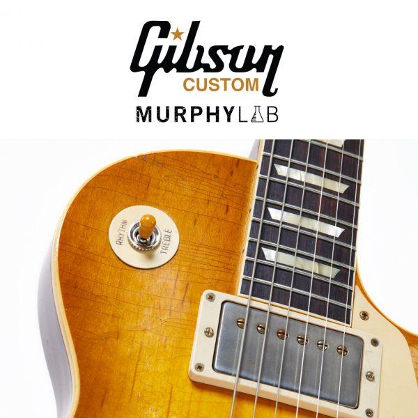 【ストックリスト更新!】Gibson Custom Shop Murphy Lab 池部楽器店に続々入荷中!