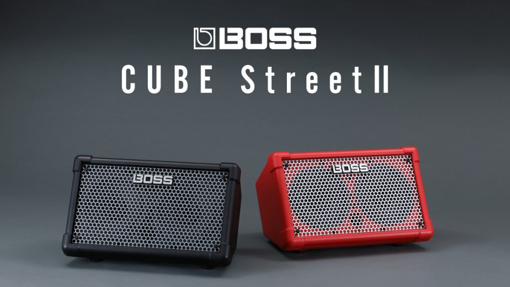 BOSS CUBE Street II | パワフルなサウンドを持ち歩こう