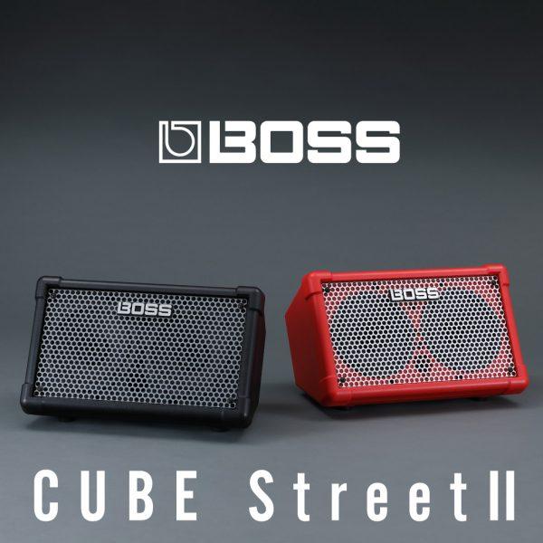 【9月25日発売!】BOSS CUBE Street II | パワフルなサウンドを持ち歩こう