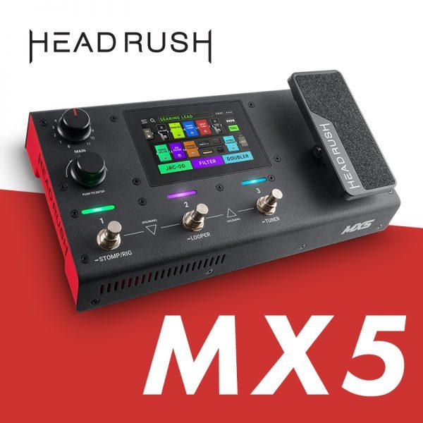 小型マルチエフェクター「HEADRUSH MX5」が満を持して登場!【動画あり】