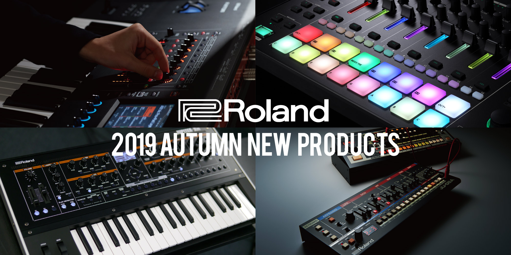 【Roland 2019 Autumn New Products】