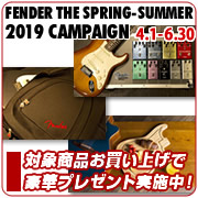 【FENDER THE SPRING-SUMMER 2019 CAMPAIGN】