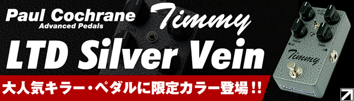 【Paul Cochrane Timmy LTD Silver Vein イケベ限定モデル】