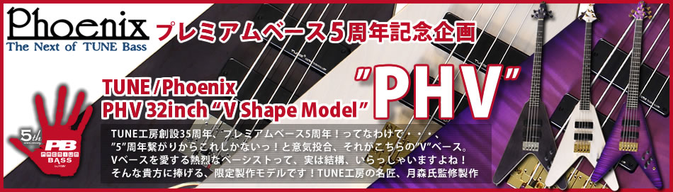 Premium Bass 5th Anniversary Presents TUNE/PhoenixPHV 32inch