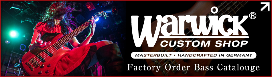 【Warwick Factory Order Bass Catalogue】