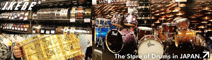 The Store of Drum & Percussions in JAPAN.